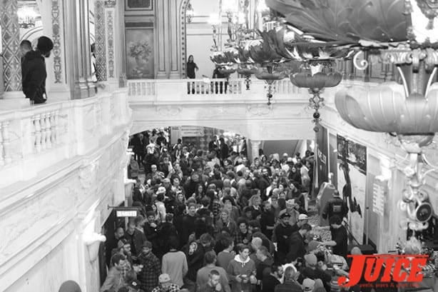 Orpheum Theatre Lobby pre-show. Photo by Dan Levy