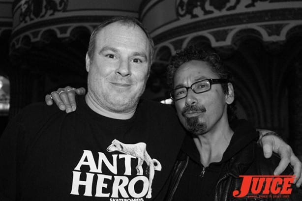 Jeff Grosso and Tommy Guerrero. Photo by Dan Levy