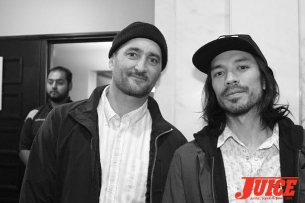 Danny Montoya and Kenny Anderson. Photo by Dan Levy
