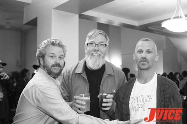 Jacob Rosenberg, Paul Schmitt, Jason Dill. Photo by Dan Levy
