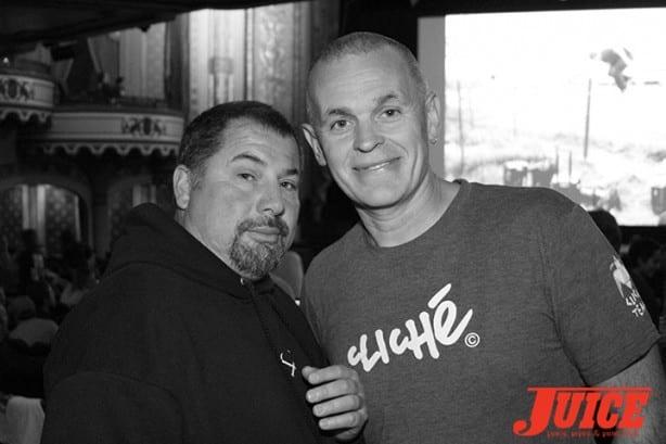 Chris Ortiz and Steve Douglas. Photo by Dan Levy