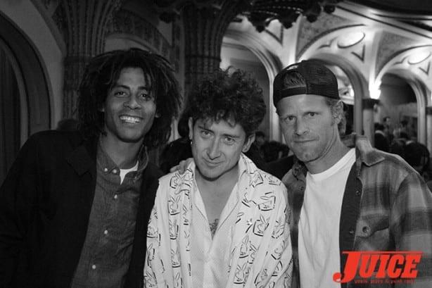 Chris Pfanner, Dustin Dollin, Anthony Van Engelen. Photo by Dan Levy