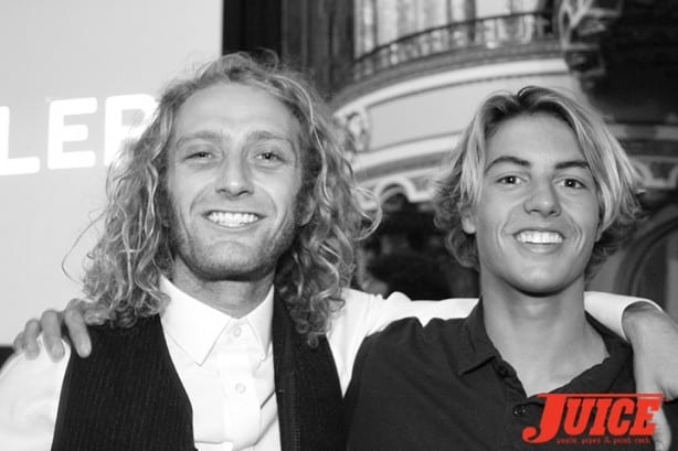 Daniel Lutheran and Curren Caples. Photo by Dan Levy