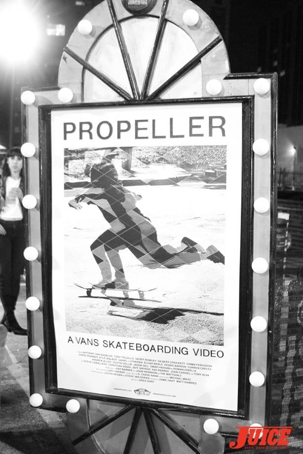 Vans First Full Length Skate Video: Propeller. Photo by Dan Levy