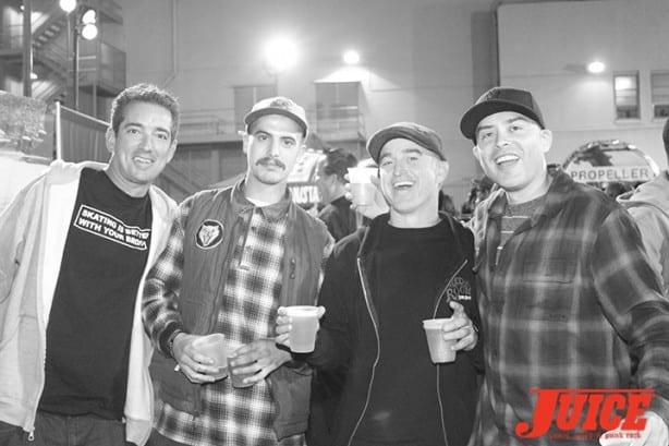 Jonas Wray, Jason Landau, Danny Highfill, Deville Nunes. Photo by Dan Levy
