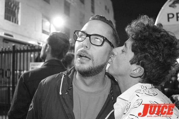 Chris Nieratko and Dustin Dollin. Photo by Dan Levy