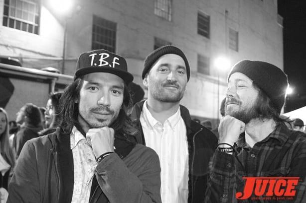 Kenny Anderson, Danny Montoya, Chris Casey. Photo by Dan Levy
