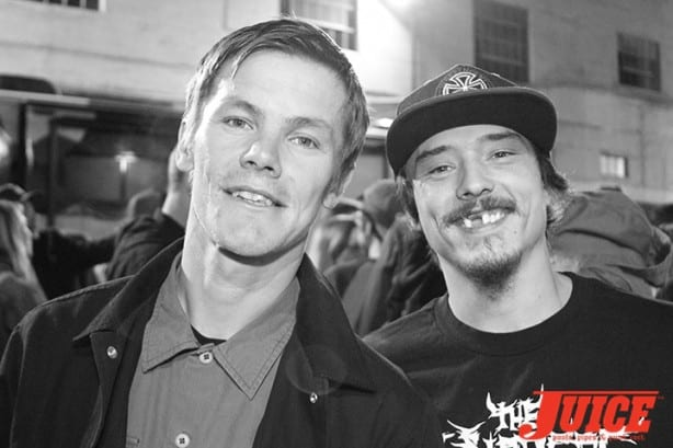 Geoff Rowley and Charlie Blair. Photo by Dan Levy