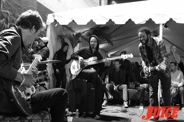 Tommy Guerrero and Ray Barbee and the Mattson 2. Photo by Dan Levy