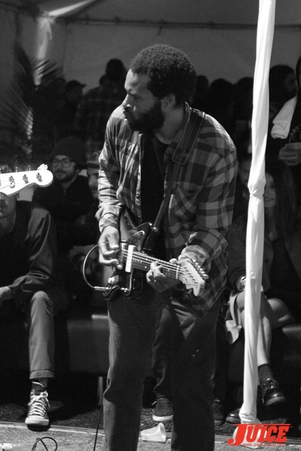 Ray Barbee jammin'. Photo by Dan Levy