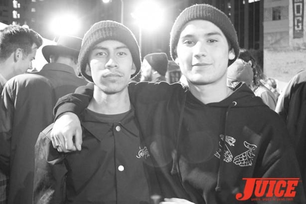 Rick Fabro and Ronnie Sandoval. Photo by Dan Levy
