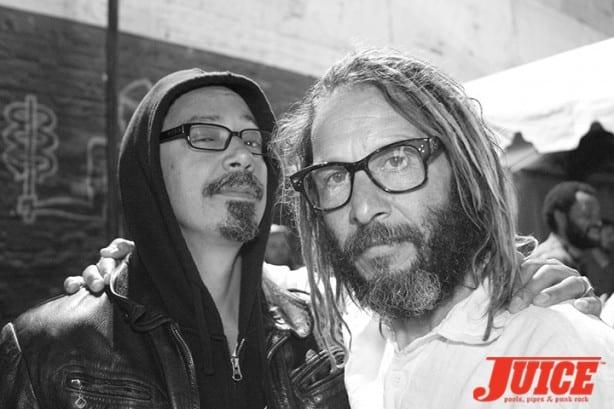 Tommy Guerrero and Tony Alva. Photo by Dan Levy