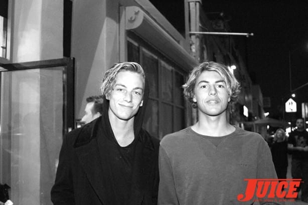 Ben Nordberg, Curren Caples. Photo by Dan Levy