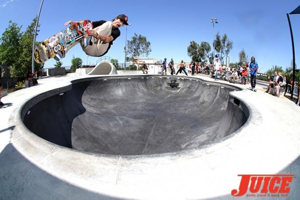 Charlie Blair - Skate For A Cause 2015. Photo by Dan Levy