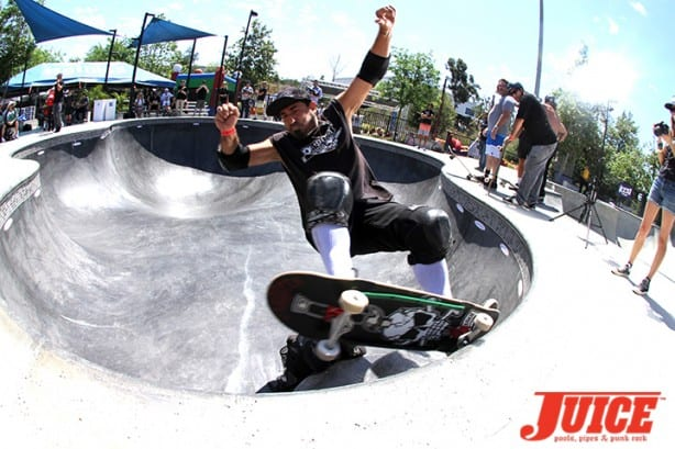 Eddie Reategui - Skate For A Cause 2015. Photo by Dan Levy