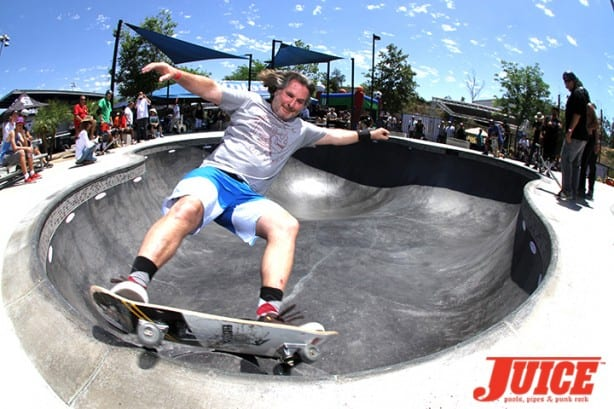 Jim Gray - Skate For A Cause 2015. Photo by Dan Levy