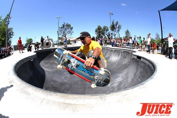 Eddie Havina - Skate For A Cause 2015. Photo by Dan Levy