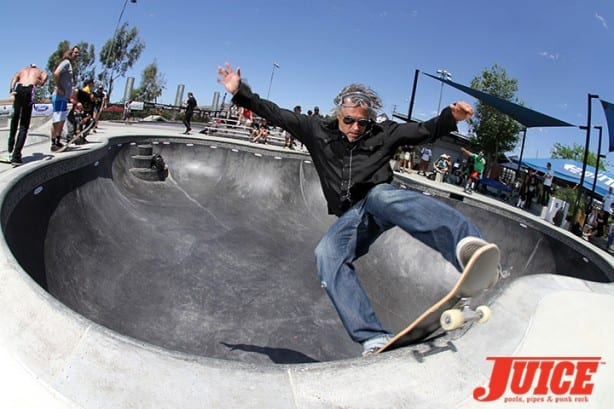 Steve Olson - Skate For A Cause 2015. Photo by Dan Levy
