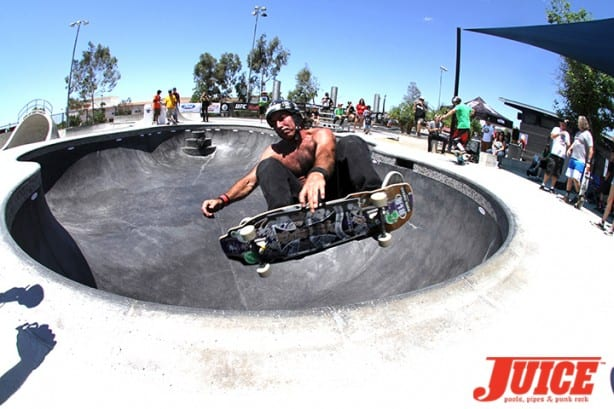 Dave Hackett - Skate For A Cause 2015. Photo by Dan Levy