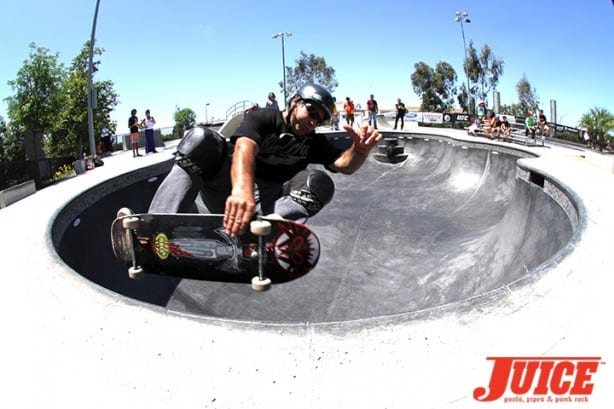 Dave Duncan - Skate For A Cause 2015. Photo by Dan Levy