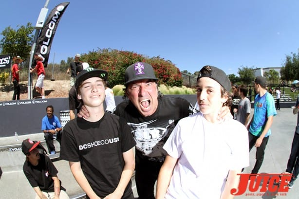 Tom Schaar, David Hackett, Cory Juneau - Skate For A Cause 2015. Photo by Dan Levy