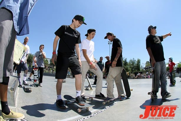 Tom Schaar and Cory Juneau - Skate For A Cause 2015. Photo by Dan Levy