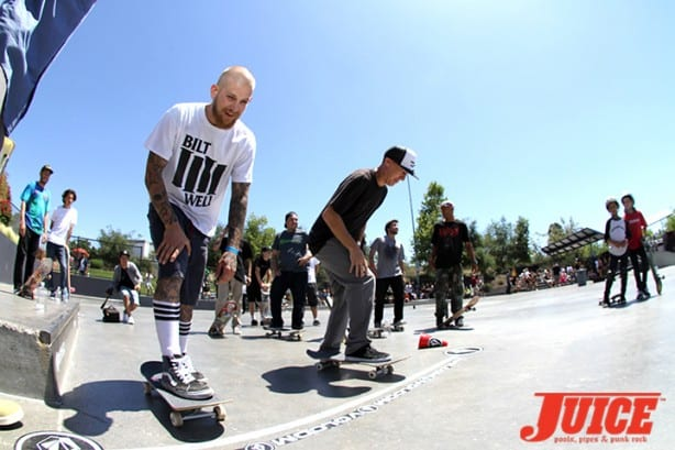 Shane Sheckler and Ronnie Creager - Skate For A Cause 2015. Photo by Dan Levy