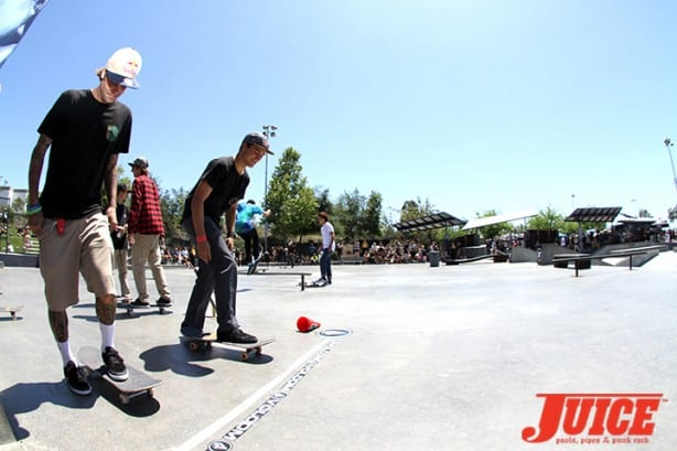 Ryan Sheckler and Alex Sorgente - Skate For A Cause 2015. Photo by Dan Levy