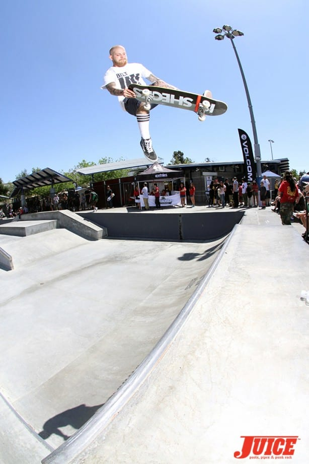 Shane Sheckler - Skate For A Cause 2015. Photo by Dan Levy