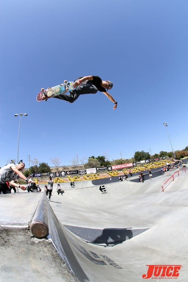 Alex Sorgente - Skate For A Cause 2015. Photo by Dan Levy