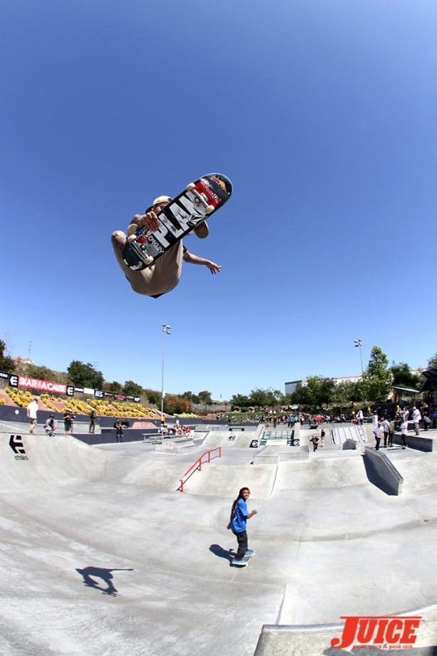Ryan Sheckler - Skate For A Cause 2015. Photo by Dan Levy