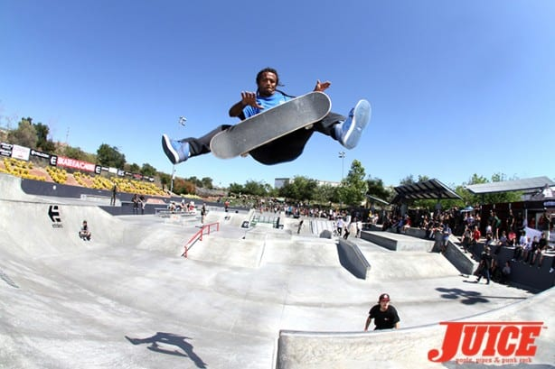 Fabrizio Santos - Skate For A Cause 2015. Photo by Dan Levy