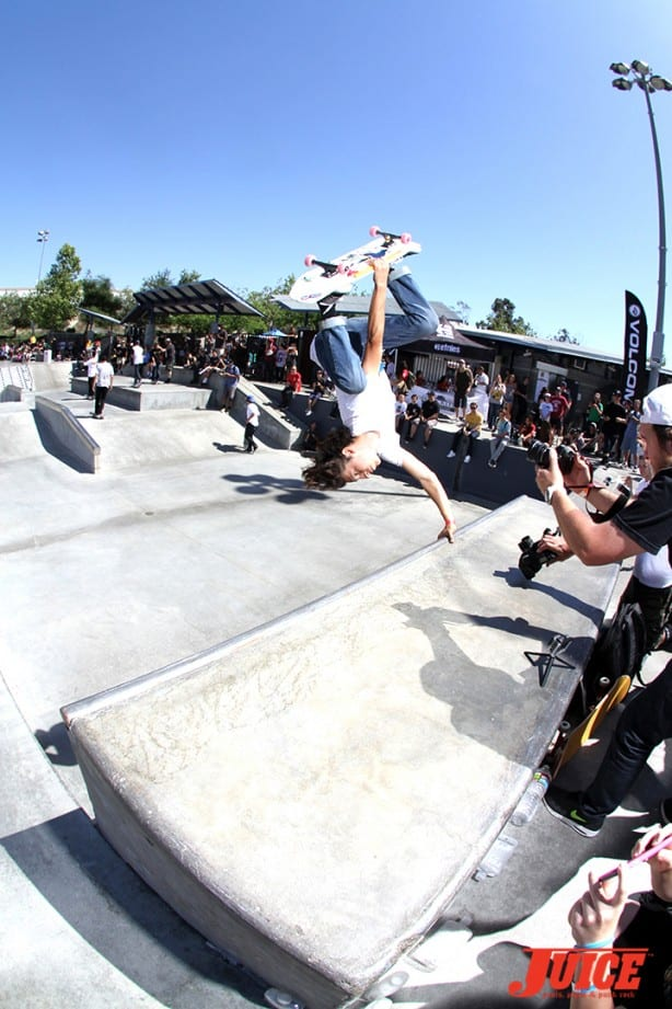 Daniel Vargas - Skate For A Cause 2015. Photo by Dan Levy