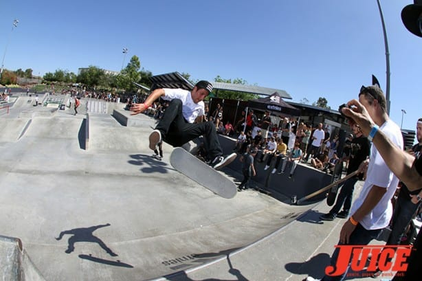Tyler Hendley - Skate For A Cause 2015. Photo by Dan Levy