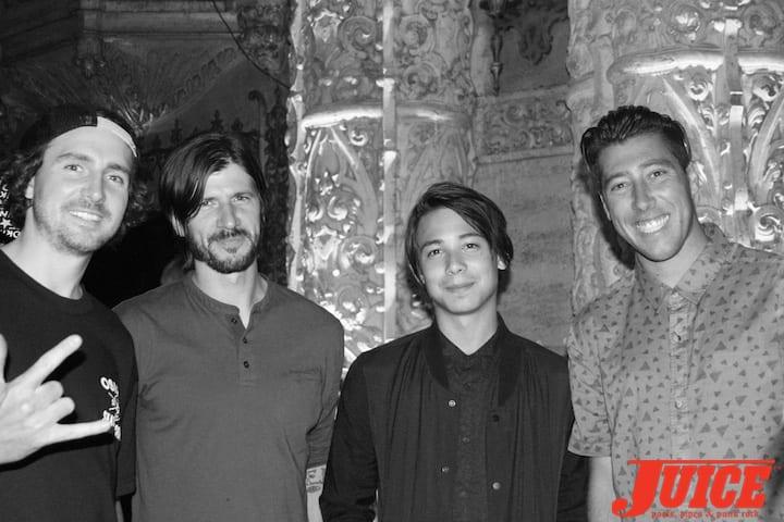 Greg Lutzka, Chris Cole, Sean Malto. Photo by Dan Levy
