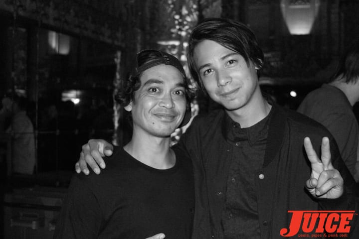 Daniel Castillo and Sean Malto. Photo by Dan Levy
