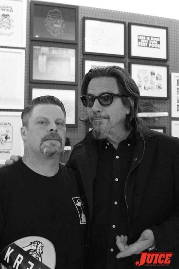 Eric Dressen and Shawn Stussy