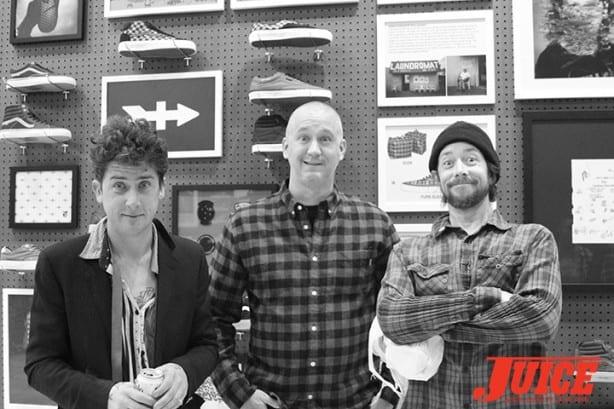 Dustin Dollin, Todd Schweinbold and Chris Casey