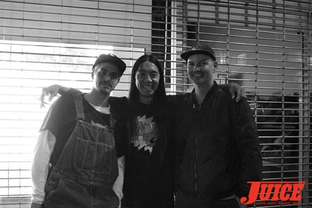 Jason Landau, Nuge, and Jaime Owens