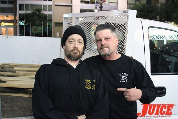 Chris Casey and Eric Dressen