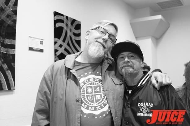 Paul Schmitt and Dennis Martinez