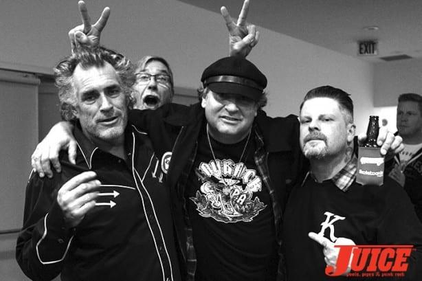 Steve Olson, Dave Duncan, Eric Dressen, and Paul Schmitt