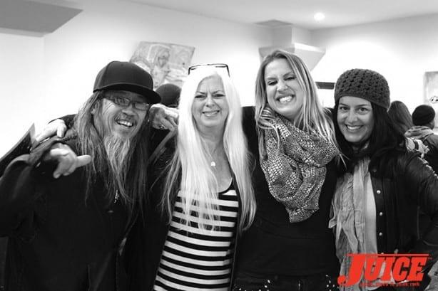Jeff Ho, Terri Craft, Kristen Rew, and Sheri Bonilla-Hanes