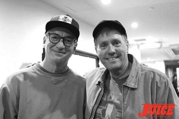 Chuck Hultz and Jim Goodrich