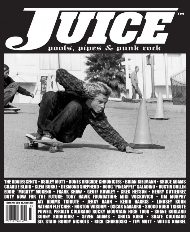 Juice Magazine 73 Jay Adams