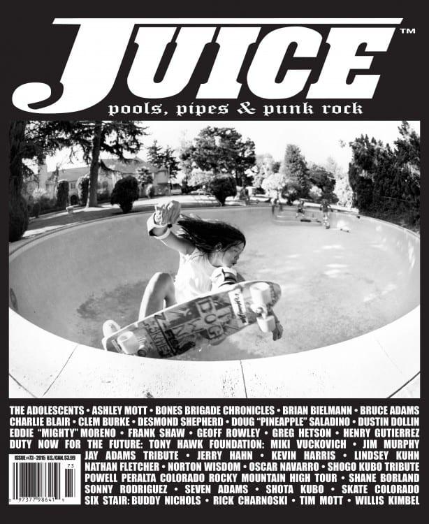 Juice Magazine 73 Shogo Kubo
