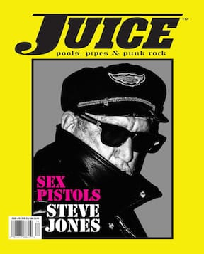 Juice Magazine 74 cover Steve Jones