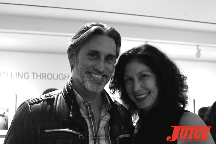 Surf Artist Michael Torquato Denicola with Paris Chong of Leica Gallery