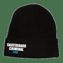 Skateboard Criminal Beanie