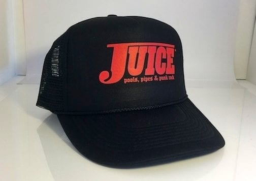 Juice Pools Pipes and Punk Rock Hat Black